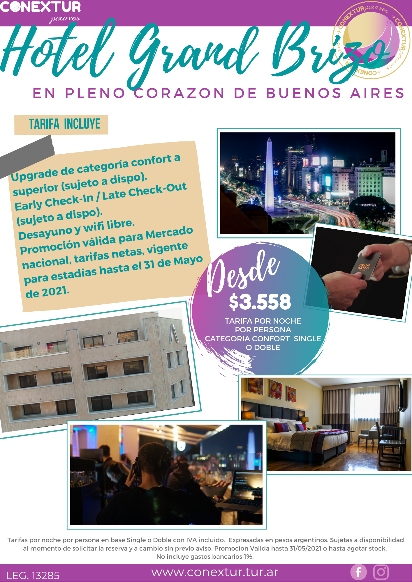 Hotel Grand Brizo - Buenos Aires
