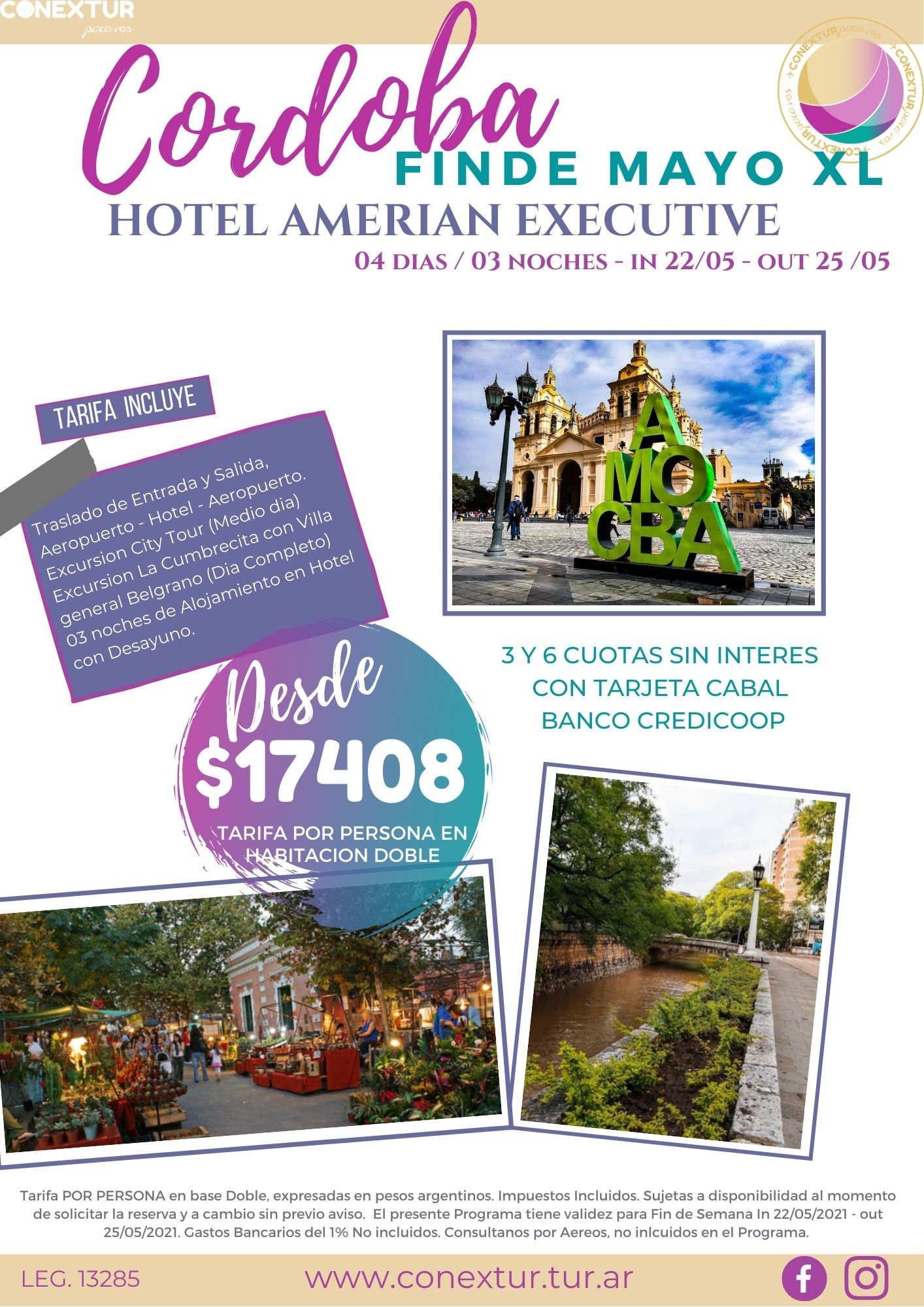 Hotel Amerian Executive - Cordoba Capital - Promo Mayo
