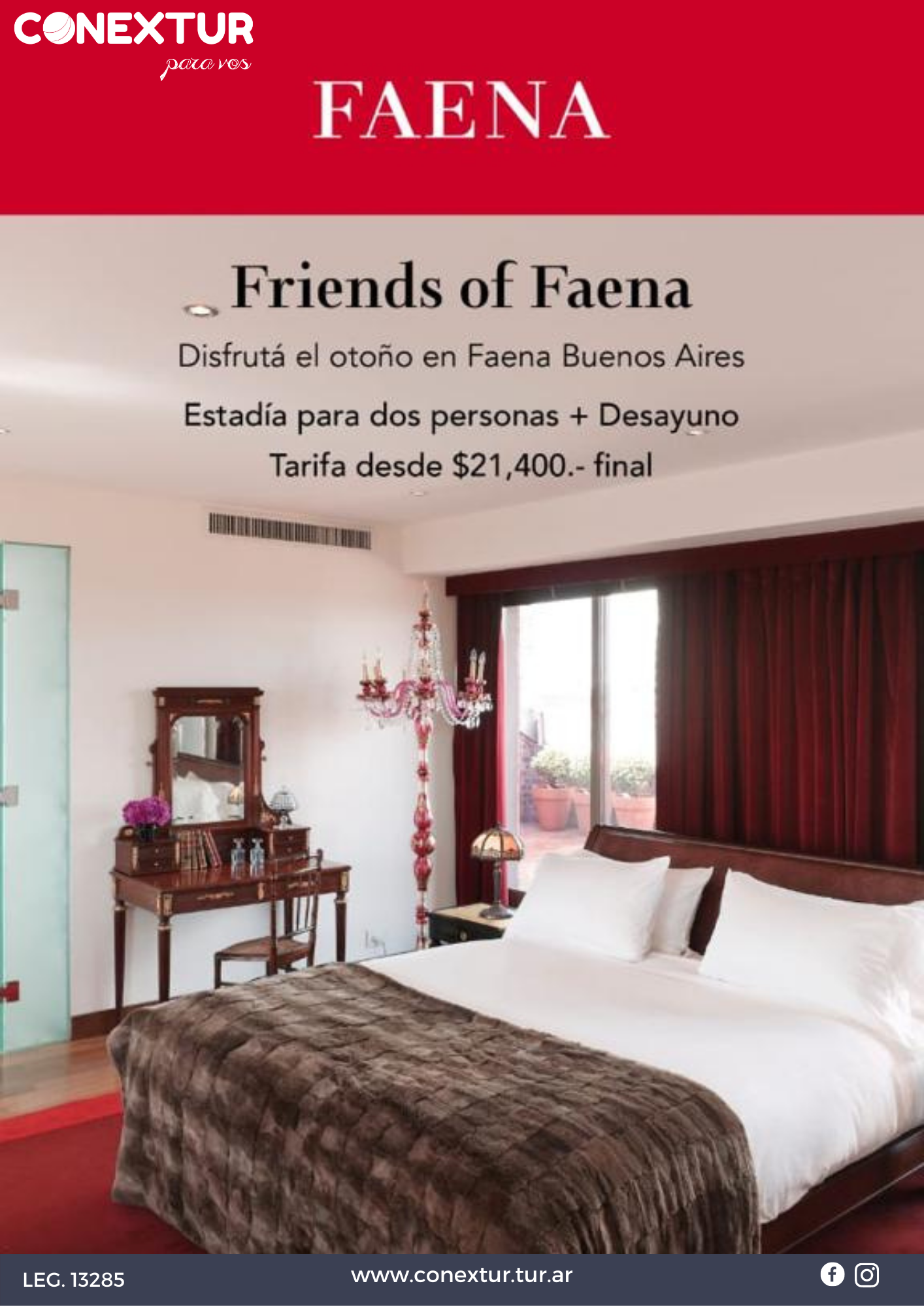 Hotel Faena - Promo Friends